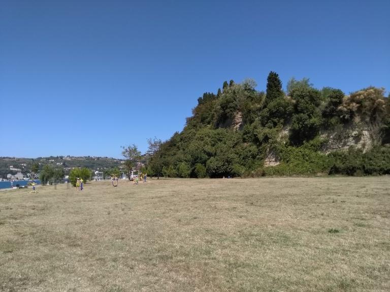 Wiesenstrand an der slowenischen Adria bei Senc